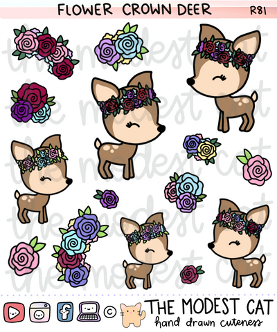 Flower Crown Deer (SP08)