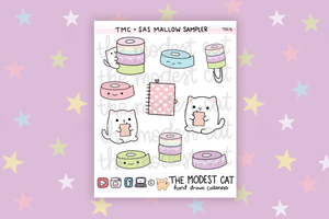 Mallow Washi & Planner Sampler (TSC5)