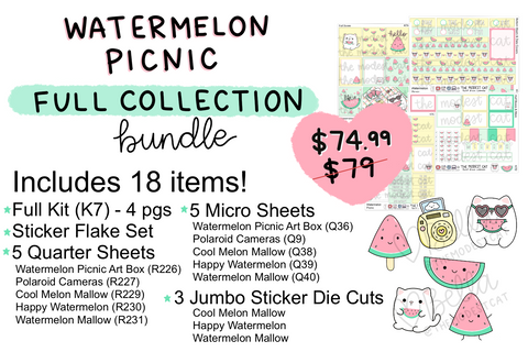 Watermelon Picnic FULL Collection Bundle