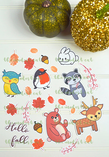 Forest Animals Die Cut Set