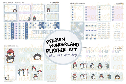 Penguin Wonderland Planner Kit (K5)