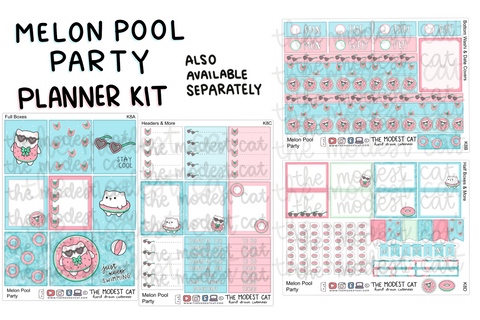 Melon Pool Party Planner Kit (K8)