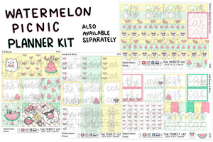 Watermelon Picnic Planner Kit (K7)