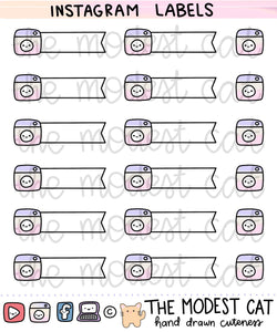 Instagram Labels (R108)