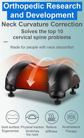 NeckRelief — Adjustable Orthopedic Neck Corrector Stand