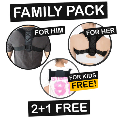 RightBack Family Pack (2+1 FREE)