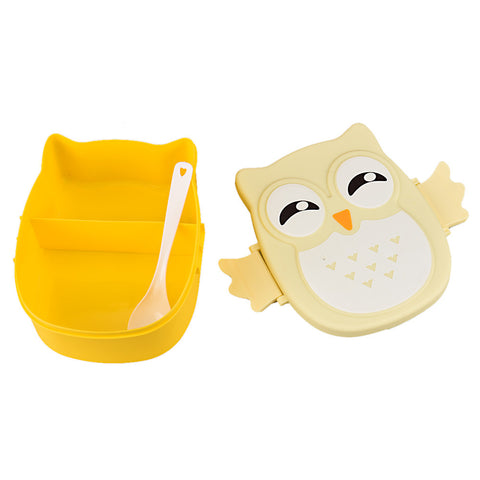 Image of Cute Owl Lunch Bento Lunch Box