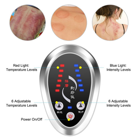 Image of Electric Cupping Massage Heated Massager