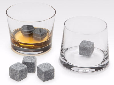 Whiskey Stones (9) Cubes with Carrying Pouch