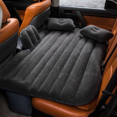 Car Back Seat Travel Inflatable Mattress includes Two Pillows & Pump