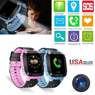 Kids Anti-lost GPS Locator Smart Watch (Android/IOS)