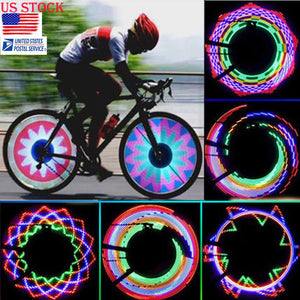 LED Tire Lights for Bikes and Motorcycles