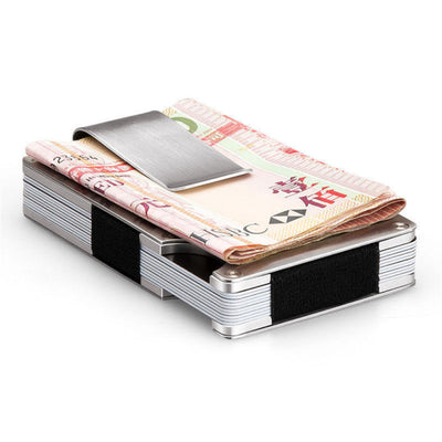 Mens RFID Blocking Slim Money Clip