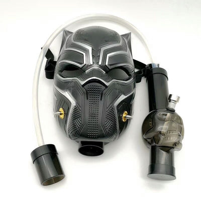 Leopard Shape Gas Mask Bong