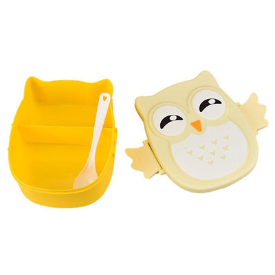 Cute Owl Lunch Bento Lunch Box