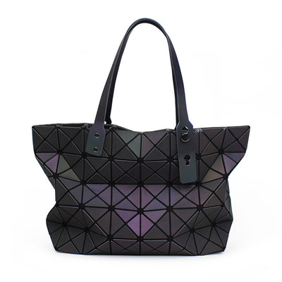 Luminous Geometric Crossbody Shoulder Bag Designer