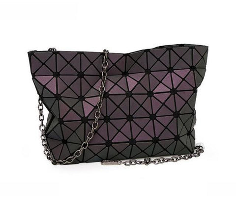 Image of Luminous Geometric Crossbody Shoulder Bag Designer