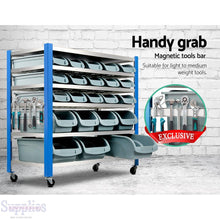 Load image into Gallery viewer, Giantz 22 Storage Bin Rack Stand