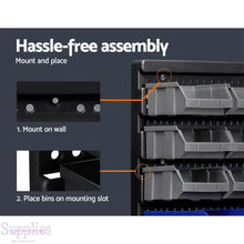 Load image into Gallery viewer, Giantz 30 Bin Wall Mounted Rack Storage Organiser