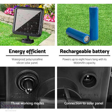 Load image into Gallery viewer, 60 LED Solar Sensor Outdoor Light