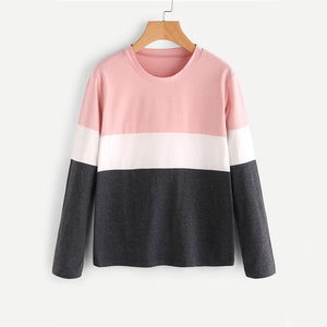 Color Blocked Perfection Long Sleeve