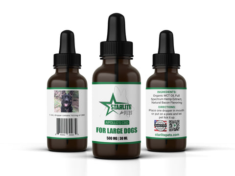 Apollo's Tincture (Large Dogs)- 500 mg