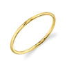 Plain Gold Stacking Ring