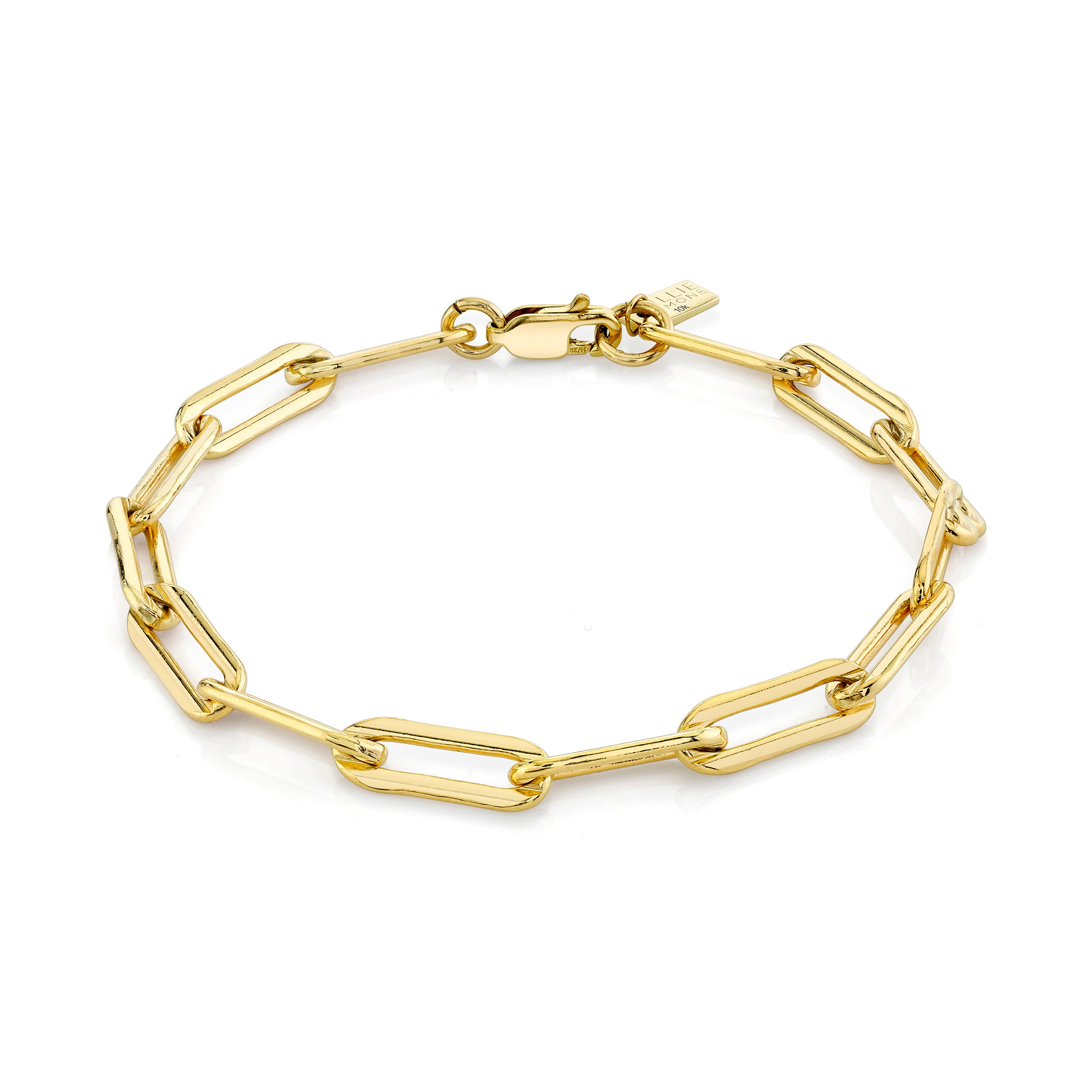 Medium Elongated Oval Link Bracelet