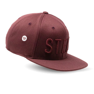 origin maroon hat