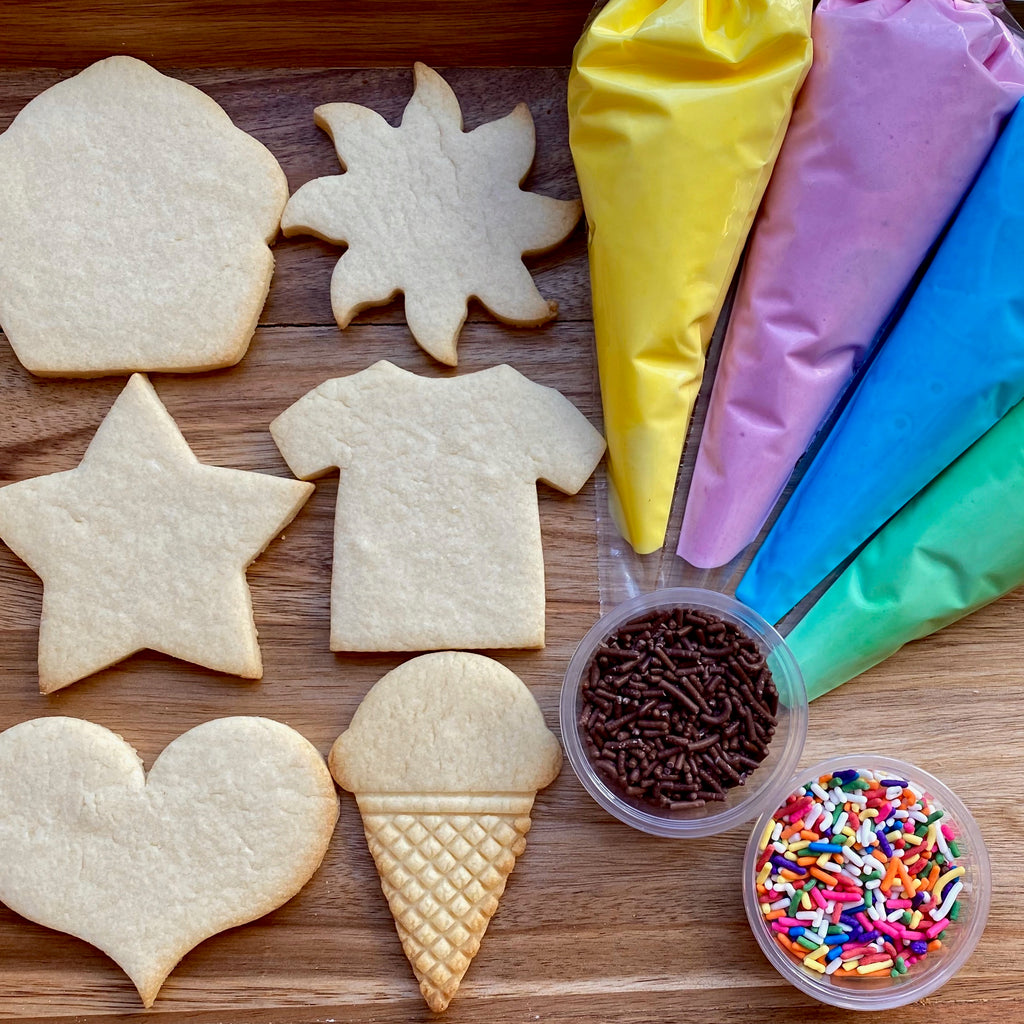 Cookie Decorating Kit - Assorted Shapes