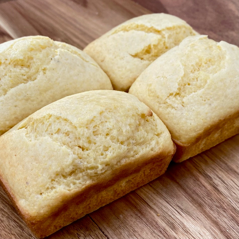 Mini Cornbread Loaves