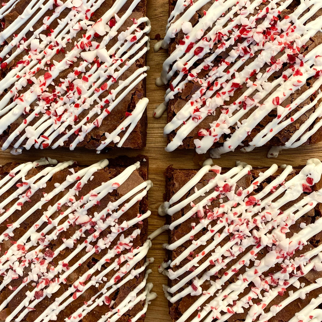 Gluten Free Chocolate Peppermint Brownies