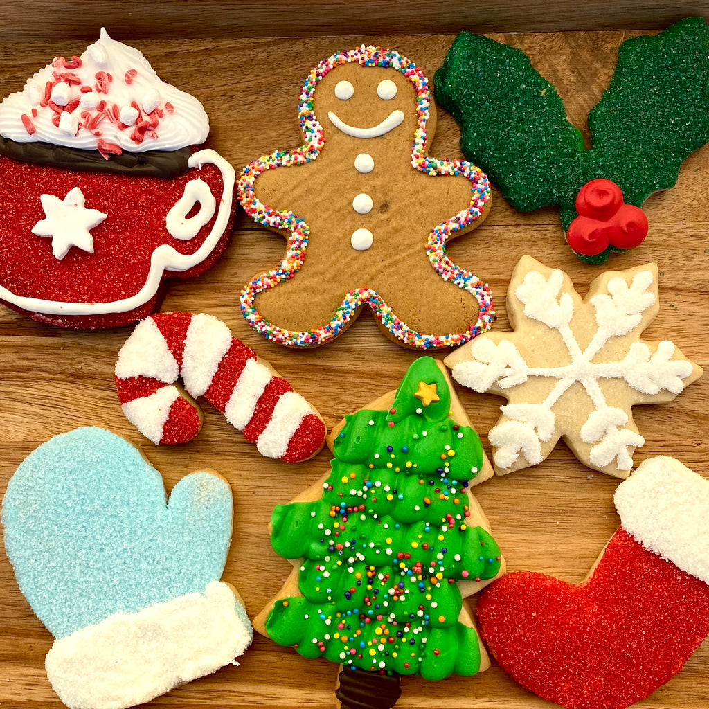 Christmas Sugar Cookie Sampler