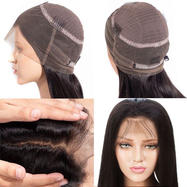 Fanov Wig 360 Lace Frontal Wigs Kinky Straight Human Hair Wigs - Fanov Wigs