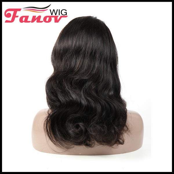 Fanov Wig Full Lace Wigs Body Wave Human Hair Wigs - Fanov Wigs
