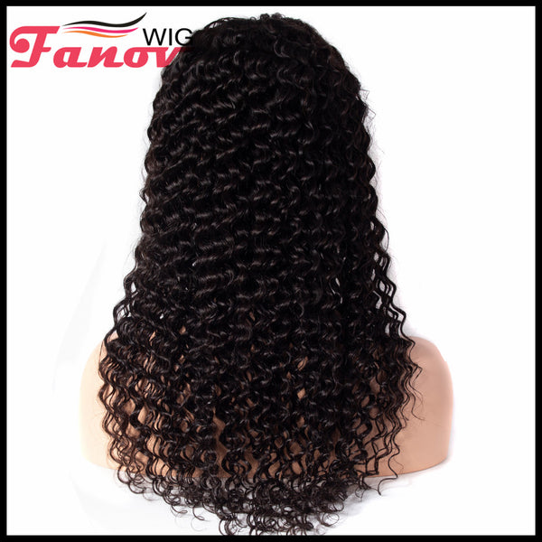 Fanov Wig Deep Wave Hair Human Hair Wigs 13×6 Lace Front Wigs - Fanov Wigs