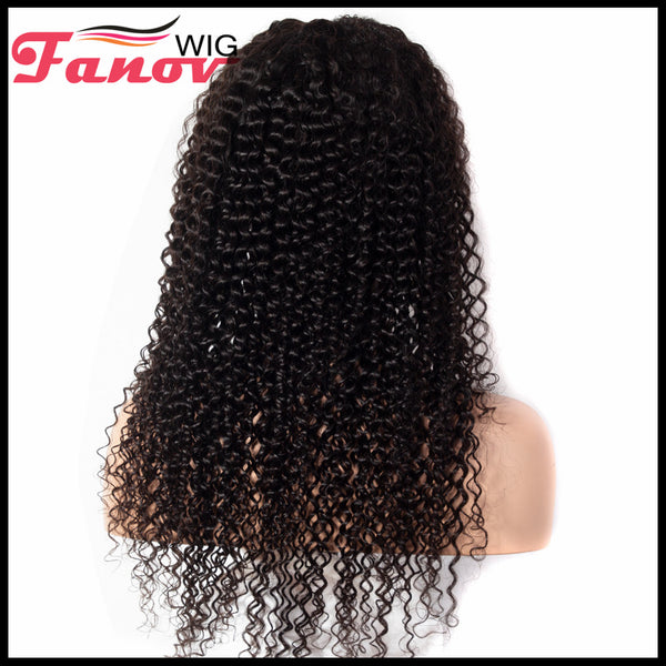Fanov Wig Kinky Curly Hair Human Hair Wigs 13×6 Lace Front Wigs - Fanov Wigs