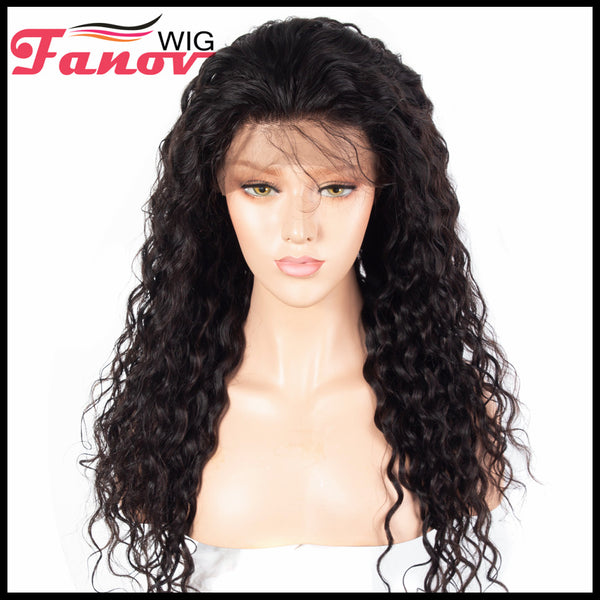 Fanov Wig Full Lace Wigs Water Wave Human Hair Wigs - Fanov Wigs