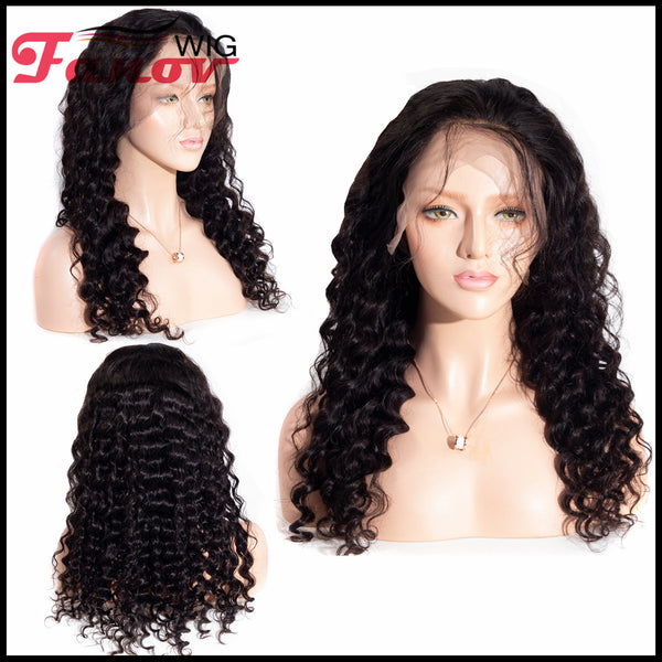 Fanov Wig 360 Lace Frontal Wigs Loose Deep Wave Human Hair Wigs - Fanov Wigs
