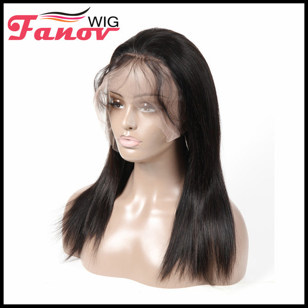Fanov Wig Full Lace Wigs Straight Human Hair Wigs - Fanov Wigs