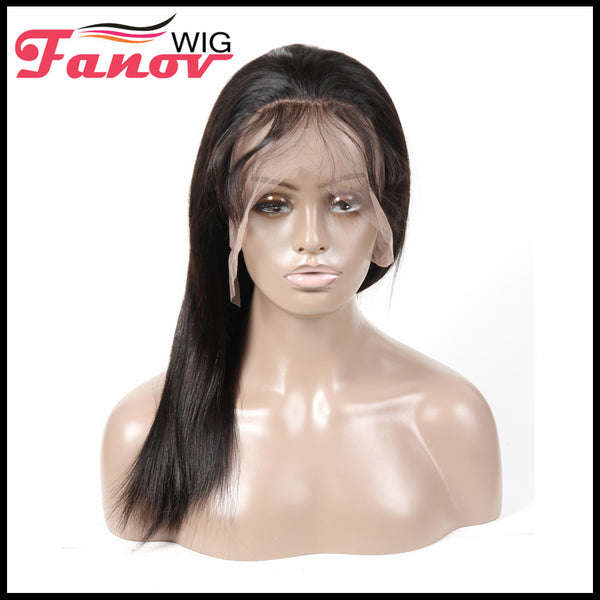 Fanov Wig 360 Lace Frontal Wigs Straight Human Hair Wigs - Fanov Wigs