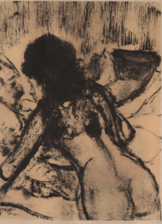 Conversation by Degas