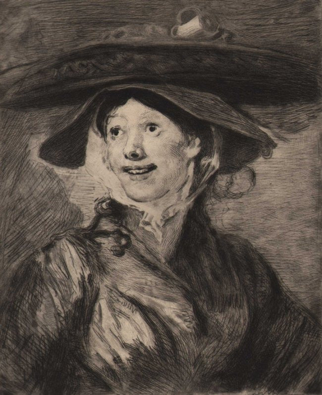 Shrimp Girl, 1886, William Hogarth