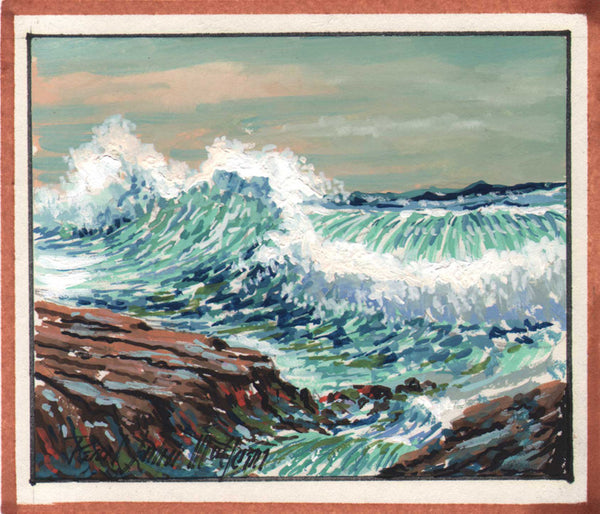 Paul John McClean - Set of 2 gouache paintings