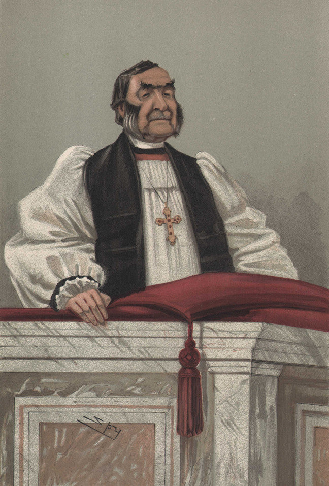 Rev. Frederick Temple, Just, by Ward, 1902.