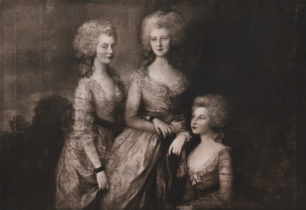 The Royal Princesses by Gainsborough, 1902