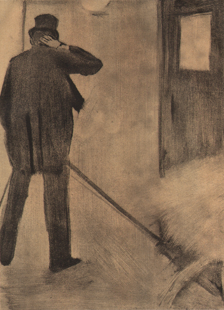 L'Homme from Famille Cardinal by Degas