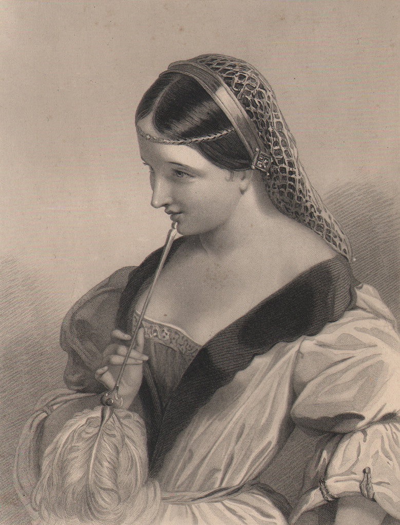 Princess Katherine of France by Wright, 1860