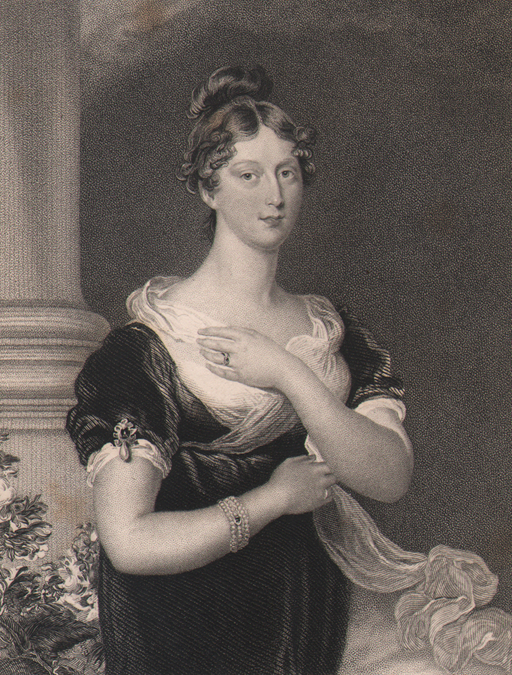 Her Royal Highness, The Princess Charlotte, by Lawrence, 1832