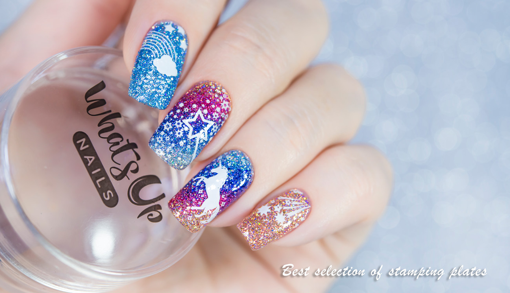 Placas Estampado- Whats Up Nails